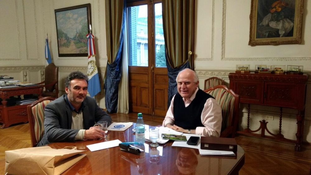 Audiencia privada con el Gobernador Miguel Lifschitz