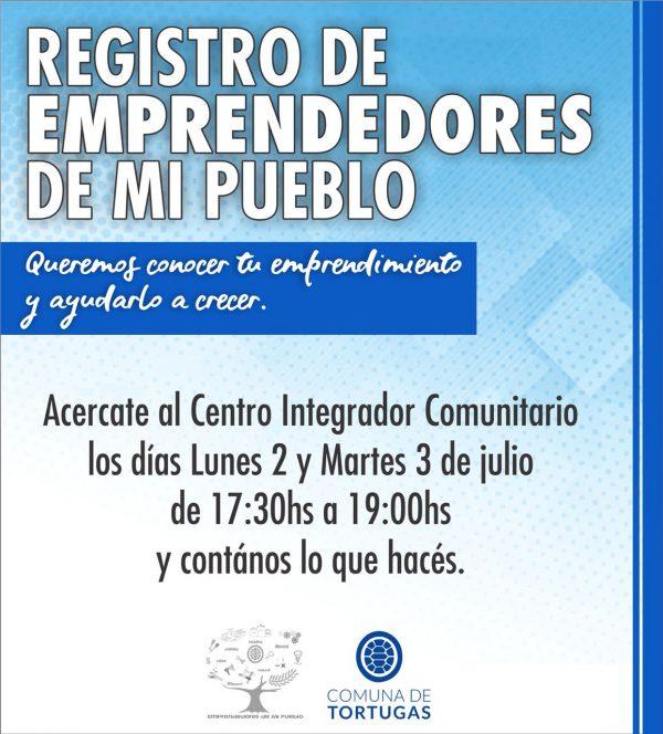 REGISTRO DE EMPRENDEDORES